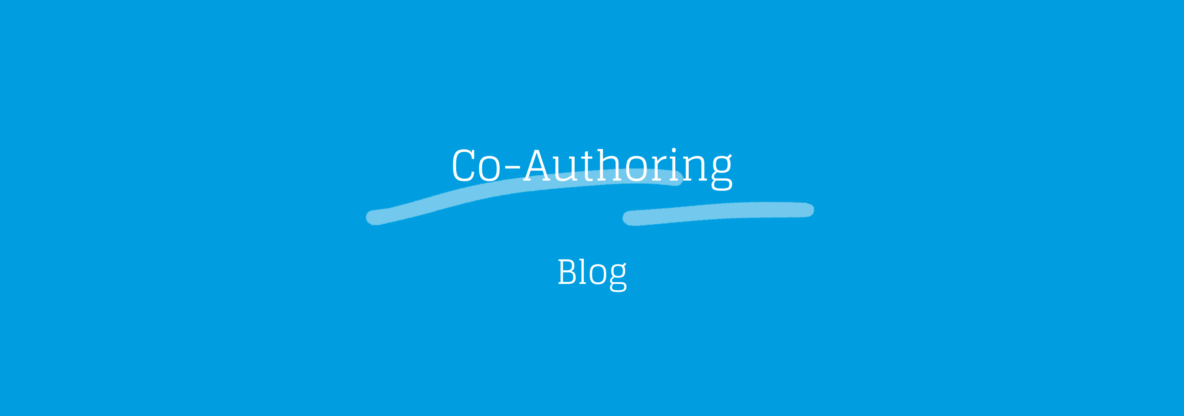 blog co-authoring